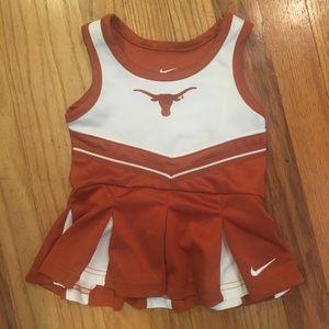 Nike Texas Longhorn cheer dress